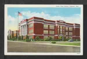 Junior High School,Fremont,NE Postcard