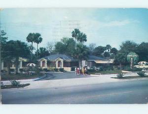 Pre-1980 MOTEL SCENE Holly Hill - Near Daytona Beach Florida FL F7628