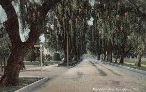 PASADENA, California, 1908; Marengo Ave.