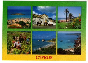 Large 5 X 7, Greetings from Cyprus