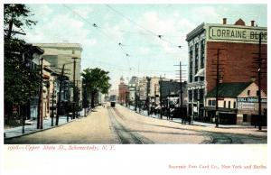 New York  Schenectady   Upper  State Street