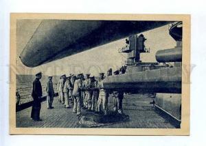 186342 RUSSIA BALTIC FLEET NAVY superior caliber gun cleaning
