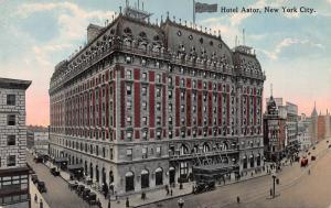 Hotel Astor, New York, N.Y., early postcard, Unused