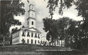 Simsbury Connecticut~Congregational Church c1914
