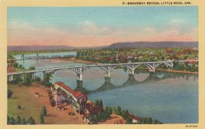 LITTLE ROCK , Arkansas , 30-40s ; Broadway Bridge