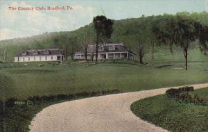 BRADFORD, Pennsylvania, 1900-1910s; The Country Club