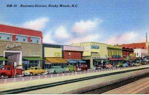 US    PC795  BUSINESS SECTION, ROCKY MOUNT, NC