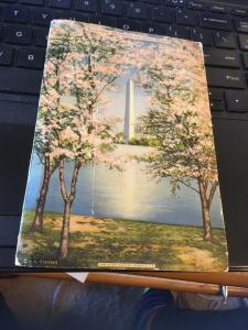 Vintage Picture Postcard Book : Beautiful Washington DC, 1930s
