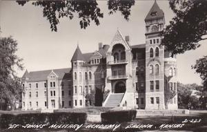Kansas Salina St Johns Military Academy Real Photo