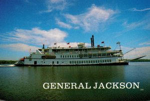 Tennessee Nashville The General Jackson On Old Hickory Lake