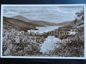 Old RP Pitlochry: Queen's View pf Loch Tummel