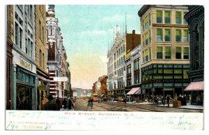 1907 Main Street, Paterson, NJ Postcard *5Q(2)11