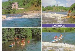 Czech Republic Luznice Multi View Canoeing