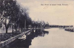 Scenic view,Bay Front of Island Park,Toronto,Ontario,Canada,PU-1907