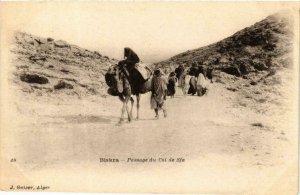 CPA AK Geiser 49; Biskra- Passage du Col de Sfa, ALGERIE (764149)