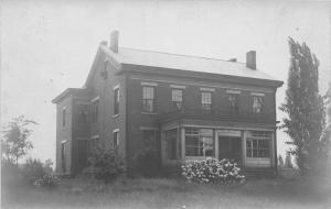E83/ Damascus Mahoning Ohio RPPC Postcard c1910 Home Porch 10