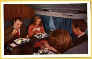 United Airlines DC-6 Mainliner 300, Mainliner Cuisine-Airline Issued