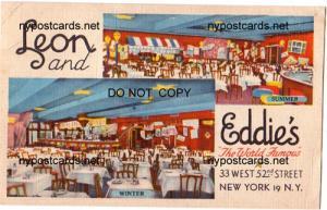 Leon & Eddie's Restaurant, NYC