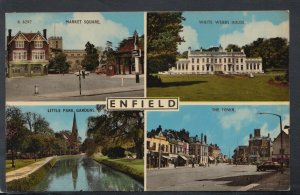 Middlesex Postcard - Views of Enfield T5163