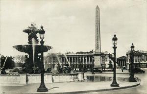 France Paris Place de la Concorde vers la Madeleine