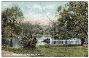 Boston, Mass, Pond, Public Garden