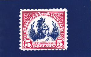 United States Postal Stamp Issue America The Head Of Freedom