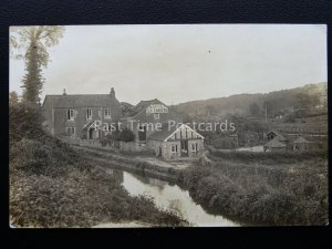 Devon KINGSKERSWELL Ye Olde Whitpot Mill Tea Gardens - Old RP Postcard