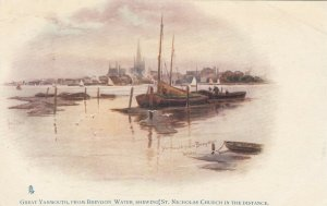 GREAT YARMOUTH, England, 1909 ; From Breydon's Waters ; TUCK 777