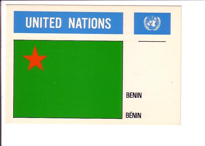 Benin, Old Flag, United Nations,