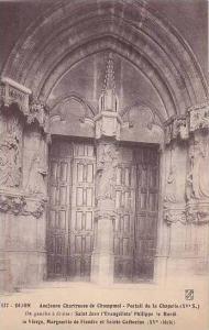 France Dijon Ancienne Chartreuse de Champmol Portail de la Chapelle
