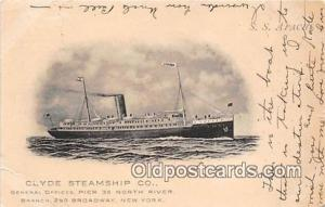 SS Apache Clyde Steamship Co, New York USA Ship Postcard Post Card Clyde Stea...