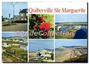 Postcard Modern Quiberville St Margaret