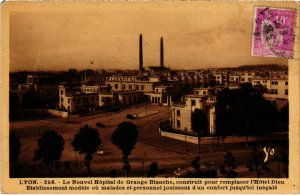 CPA LYON Le Nouvel Hopital Rhone (102043)