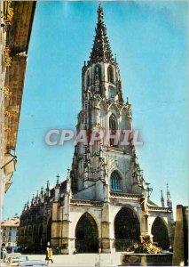Modern Postcards Bern Cathedral