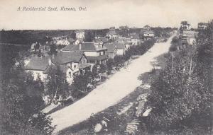 KENORA, Ontario, Canada, 00-10s ; Residential Spot