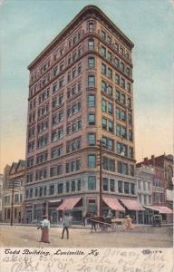 Kentucky Louisville Todd Building 1908