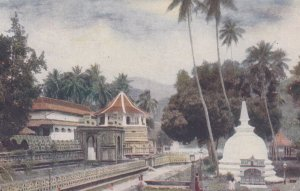 KANDY , Ceylon , 1921 ; Temple of the Holy Tooth
