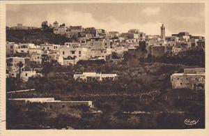 Tunisia Carthage Vue Generale de Sidi Bou Said