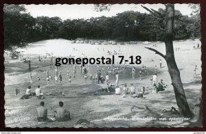 dc1277 - NETHERLANDS Appelscha 1960s Zandplakte met Speelvyver. Real Photo PC