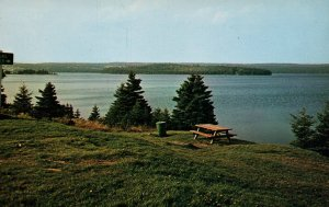 Bras D'Or Lake,St Peter's,Cape Breton,Nova Scotia,Canada