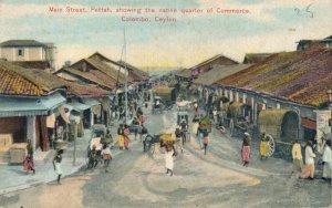 Sri Lanka Ceylon Main Street Pettah the Native Quarter of Commerce Colombo 06.56