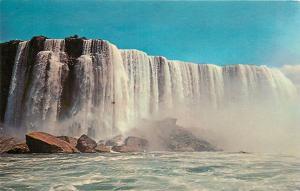 Postcard Canada Ontario Niagara Falls Maid of the Mist Pool pm 1966