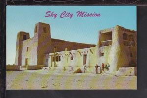 Sky City Mission,Acoma Pueblo,NM Postcard