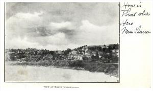 Aerial View of North Morgantown  West Virginia