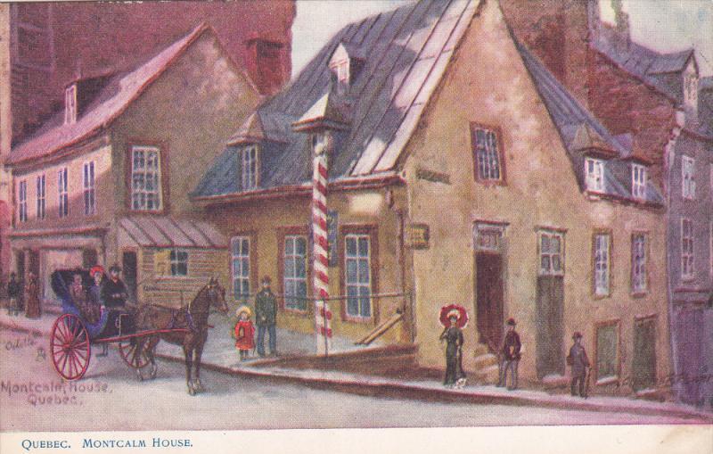 TUCK # 2243 , QUEBEC , Canada , 00-10s ; Montcalm House