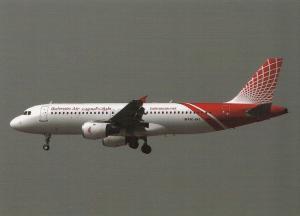 BAHRAIN AIR , AIRBUS A320-212, unused Postcard