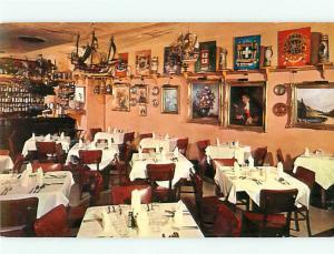 Washington DC Gemuetlichkeit Old Europe Restaurant Rathskeller Postcard # 5585