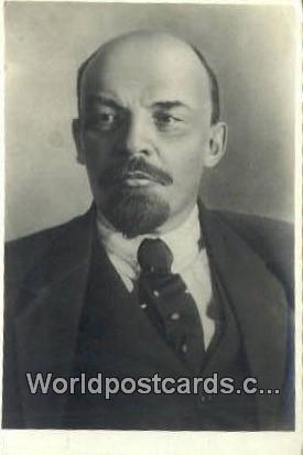 Russia, Soviet Union W I Lenin W I Lenin