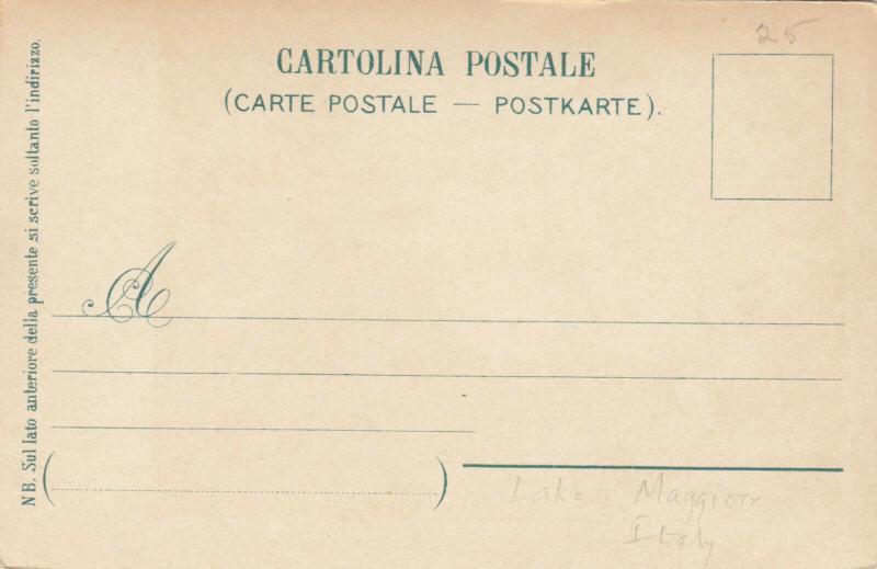 LAGO MAGGIORE , Italy, 1901-07; ISOLA MADRE Vista su Pallanza