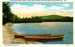 NY - Adirondacks, Loon Lake Shoreline